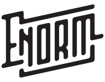 ENORM, band, logo