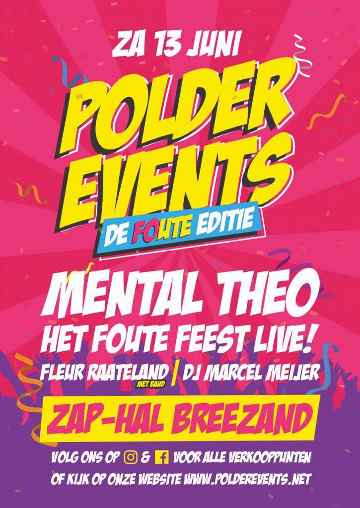 Polder Events, Breezand, programma, 2020, info,