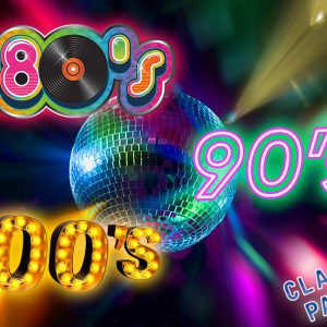 classic, 80s, 90s, 00s, party