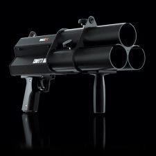 Confetti, streamer, gun, kanon, pistool, feest, effect